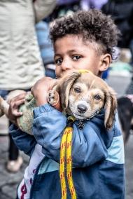 Moradores de rua e seus Cães – Ação Campanha de Inverno Julho2017